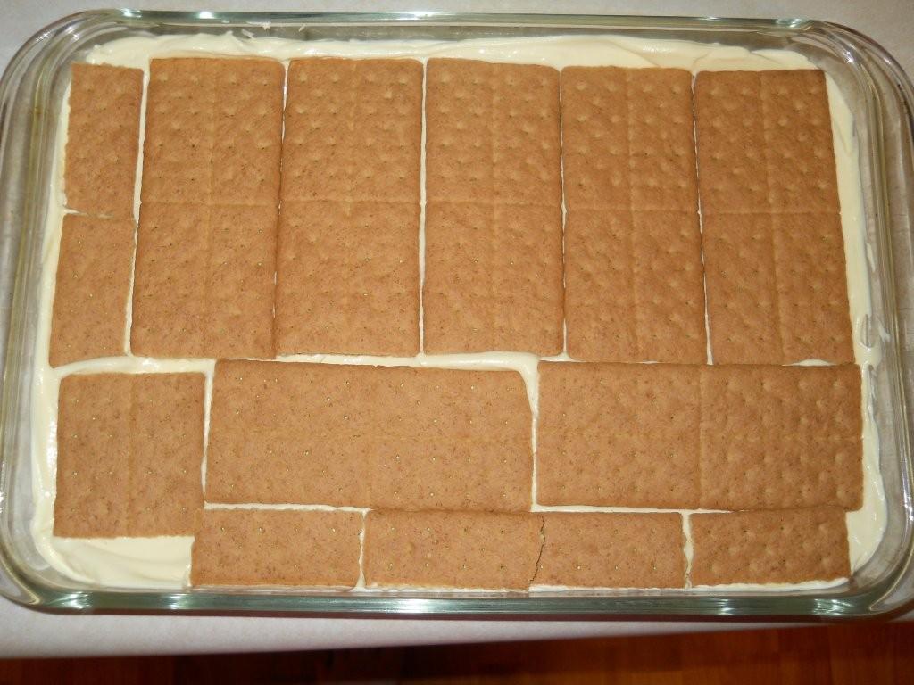 No Bake Boston Cream Pie Dessert   ihearditsyummy